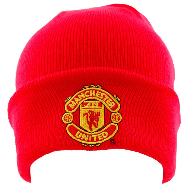Manchester United Beanie- Red