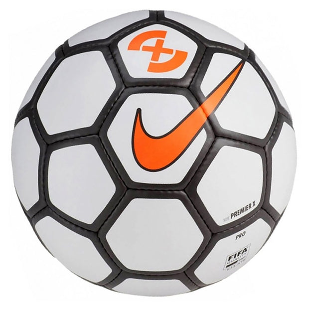 Nike Premier X Pro Futsal Ball- FIFA APPROVED- White/Grey