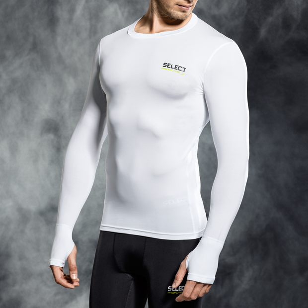 Select Compression Top- White
