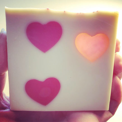 Glowing Heart Soap