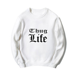 8b3f534d9b5 New Sweatshirts Thug Life Men Women Rap Tupac 2PAC – Skrt shopping