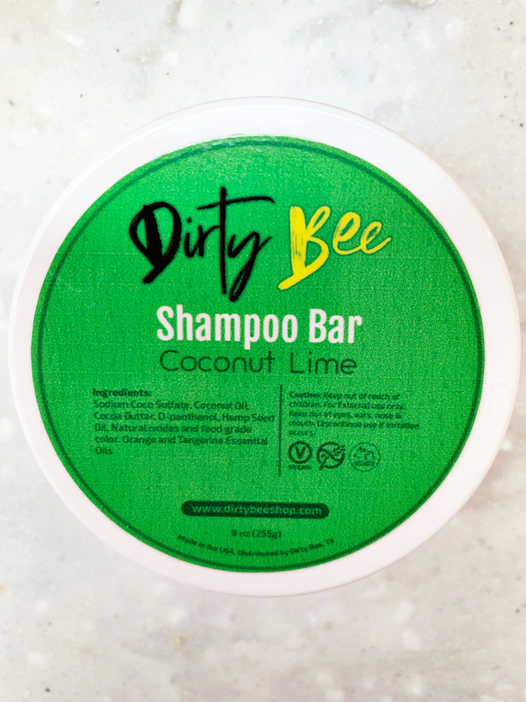 Dirty Bee Shampoo Bars | Coconut Lime