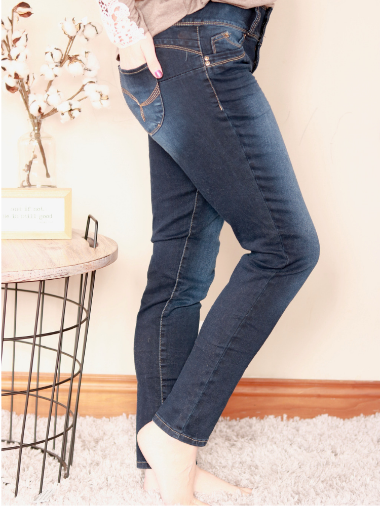 Veda Dark Wash Skinnies - Just Gorgeous Darling Boutique