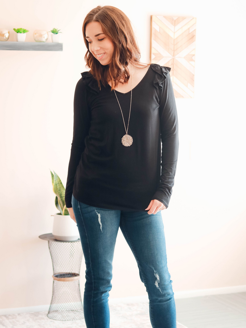 Lilith Top | Black