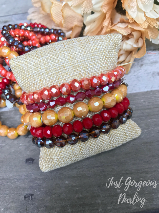 Sugar Stacks Bracelets- Fallen Leaves