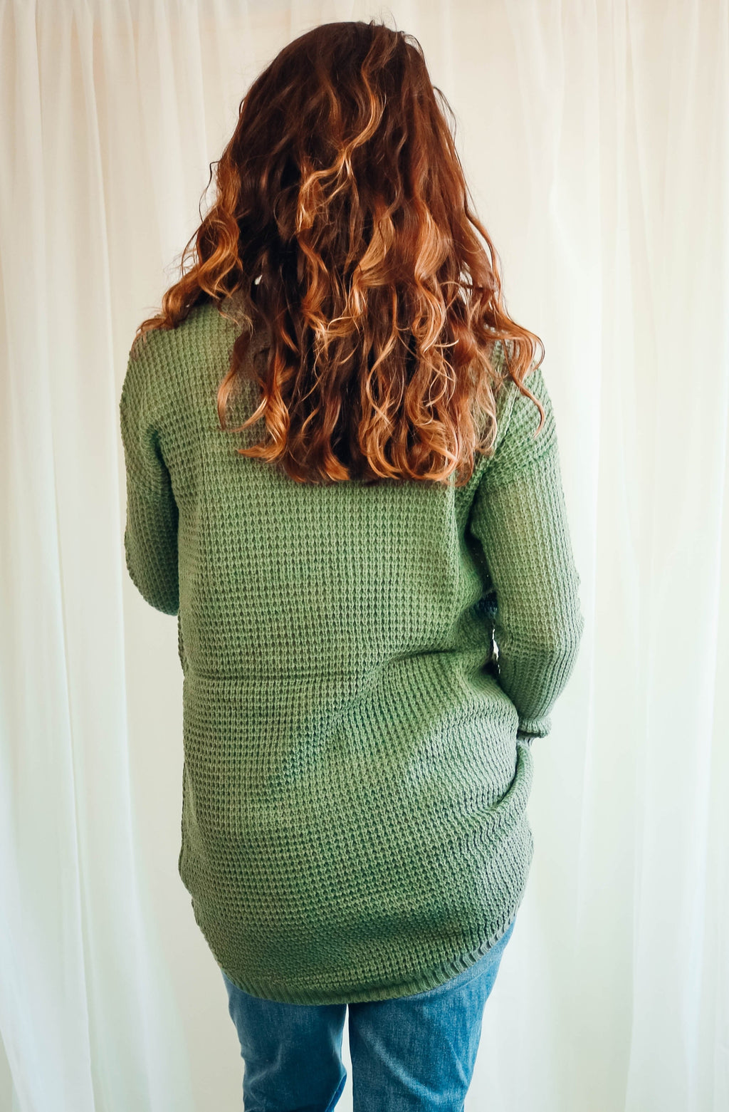 Harris Sweater | Light Olive