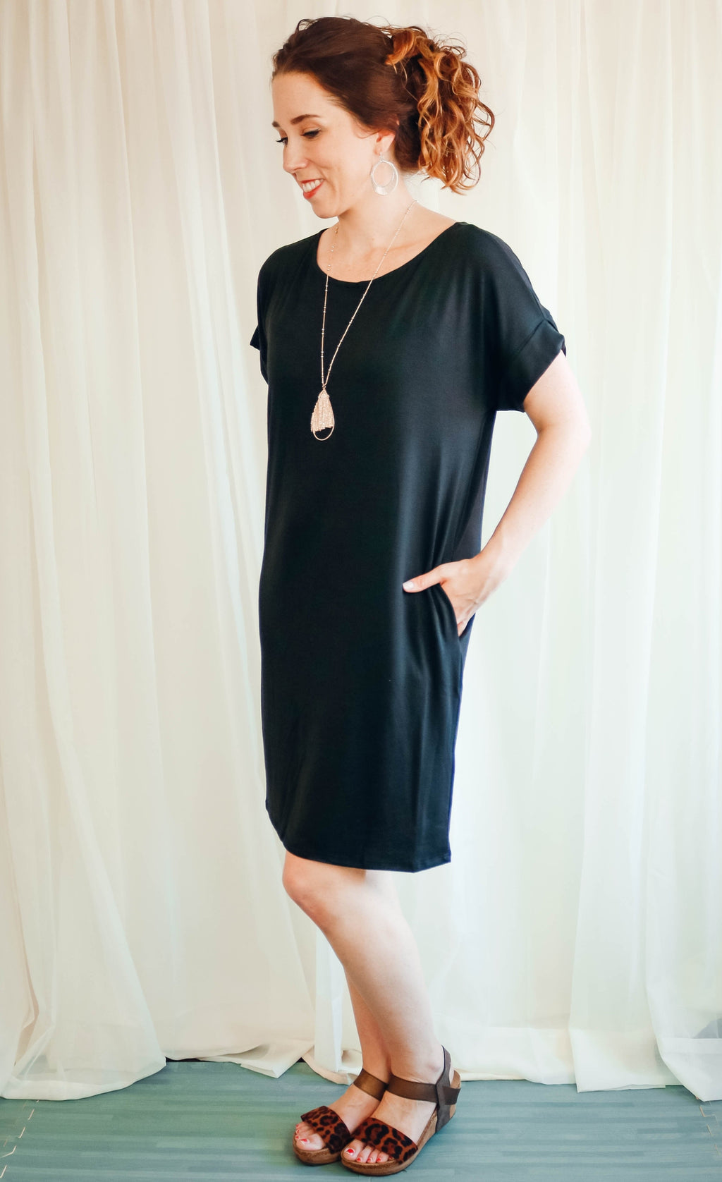 Just Like That Dress (Scoop Neck) | Black