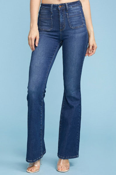 High Wasted Flare Denim | Judy Blue