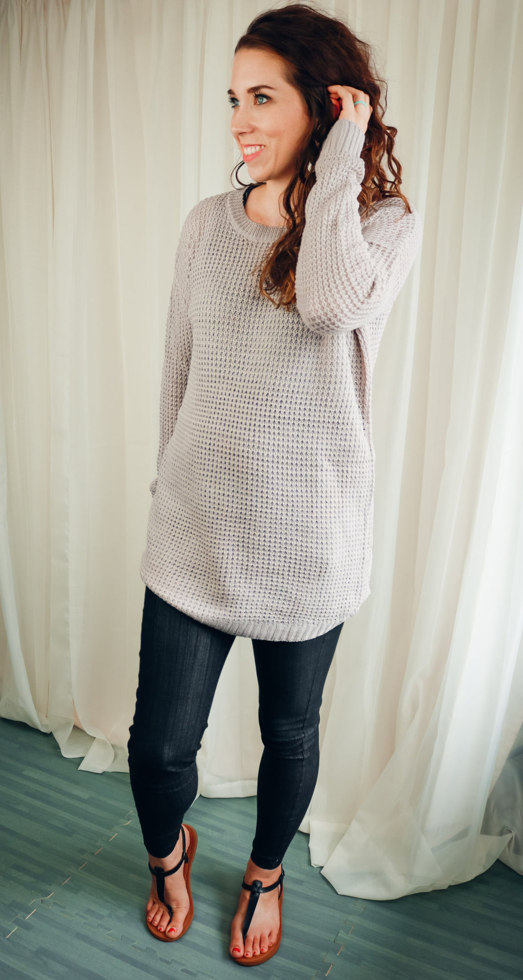Harris Sweater | Light Grey