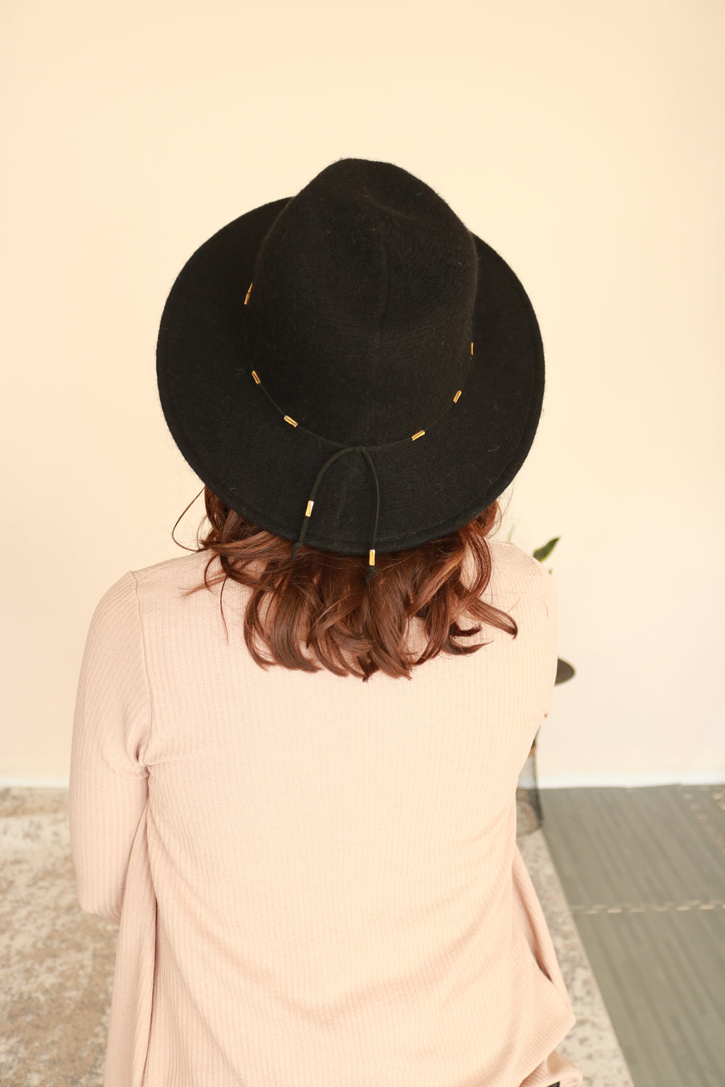 Wool Panama Hat | Black