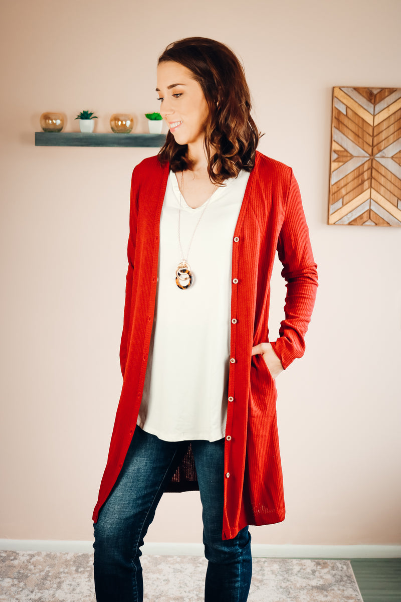 Willa Cardigan | Rust