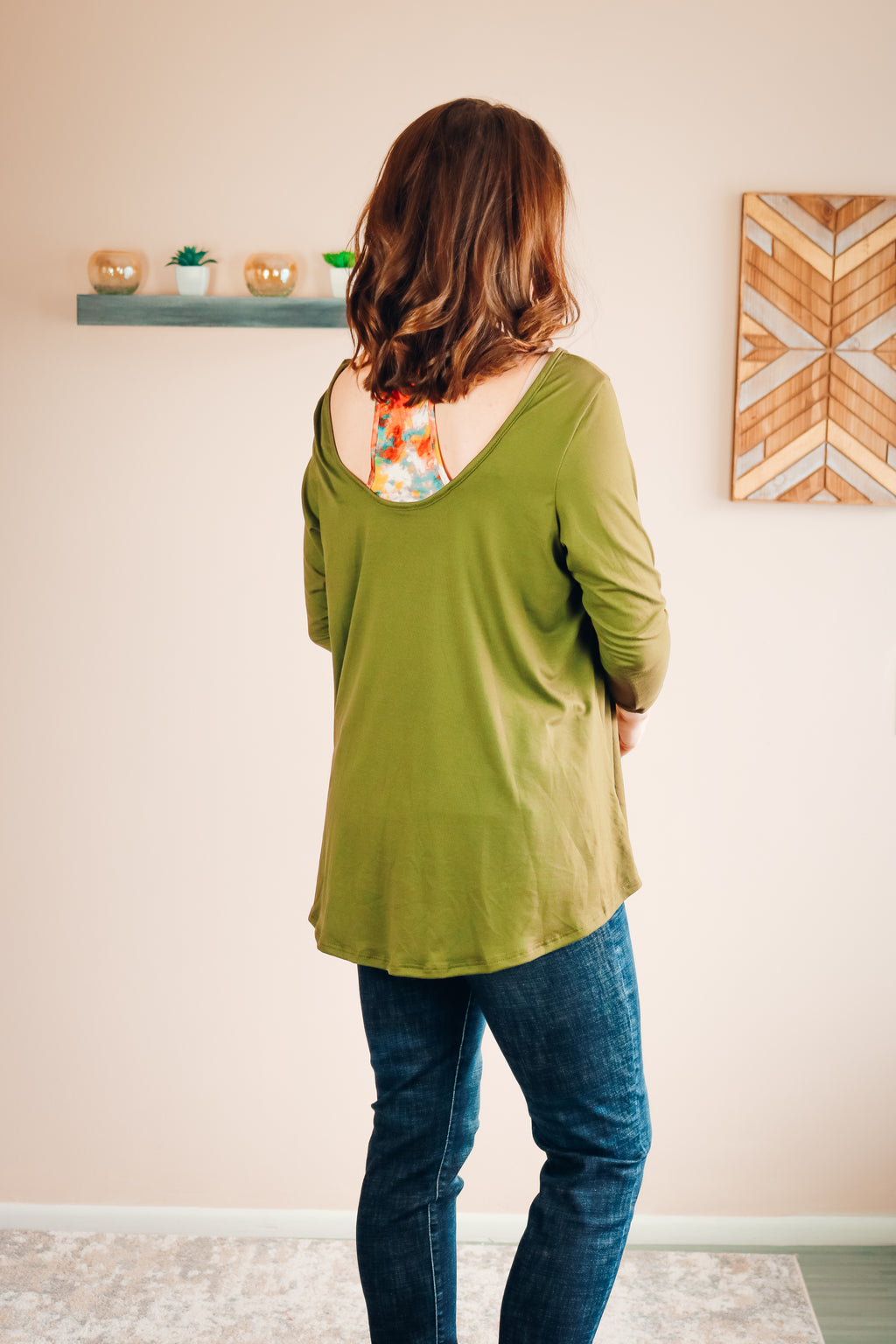 Norah Top | Olive Green