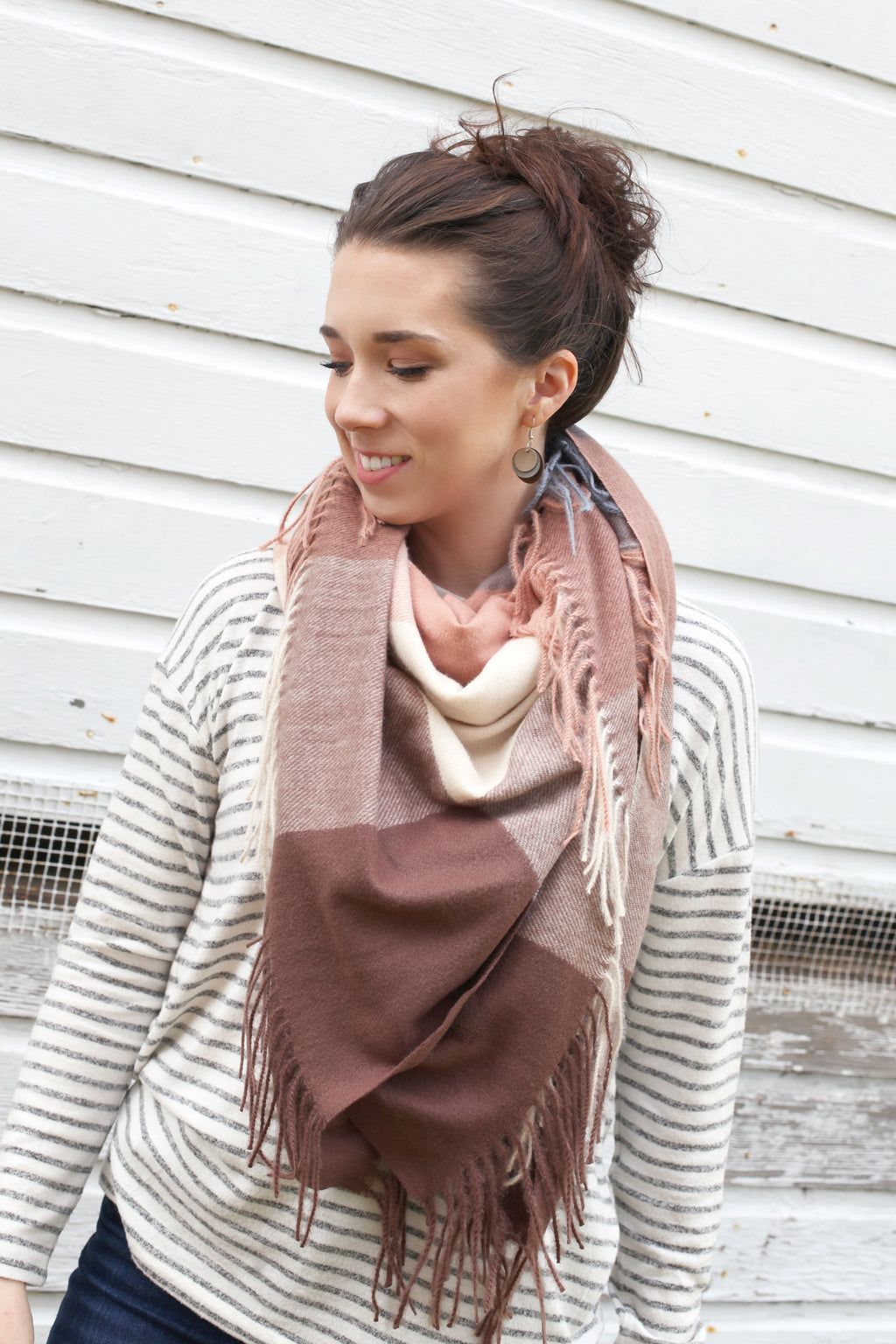 Blanket Scarf | Taupe