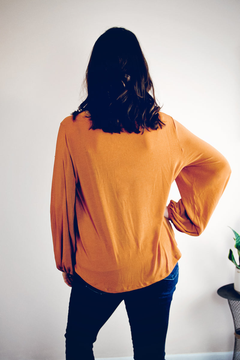 Pippa Top | Amber