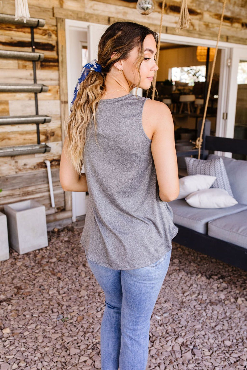 Chase The Gray Away Tank