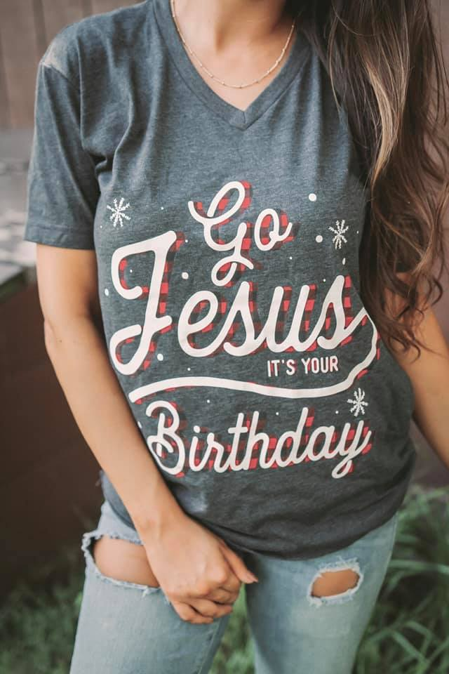 Go Jesus, It's Your Birthday | Holiday Graphic Collection