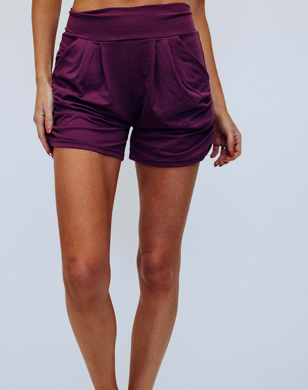 Harem Shorts | Purple