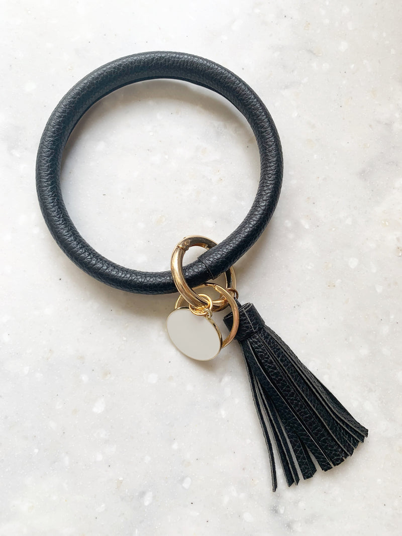 Halo Tassel Bracelet Key Ring (+4 Colors!)
