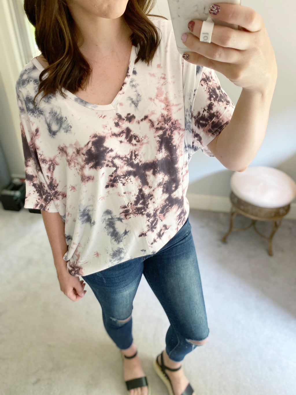 Sweet Water Top | Blush