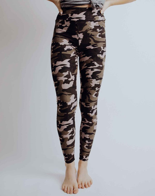 Live-In Leggings | Camo