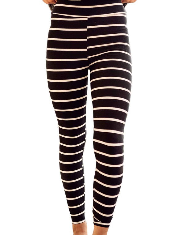 Live-In Leggings | Striped