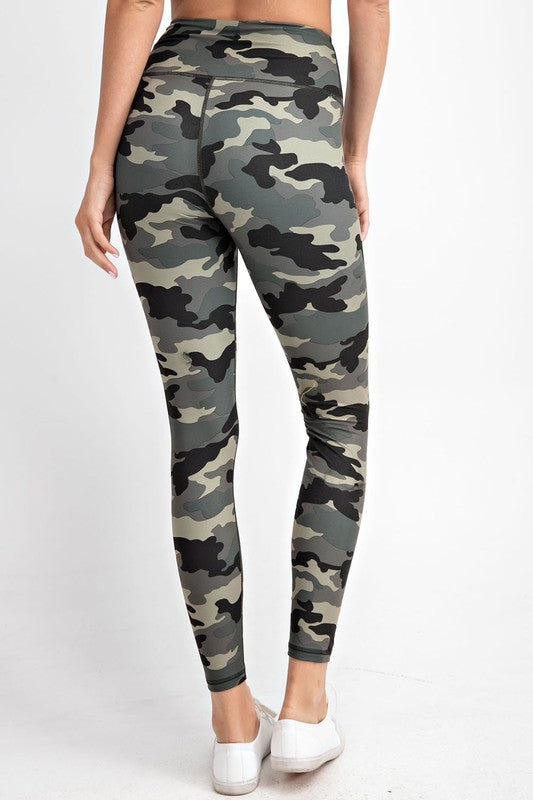 Lexie Leggings - Camo | Athleisure Collection