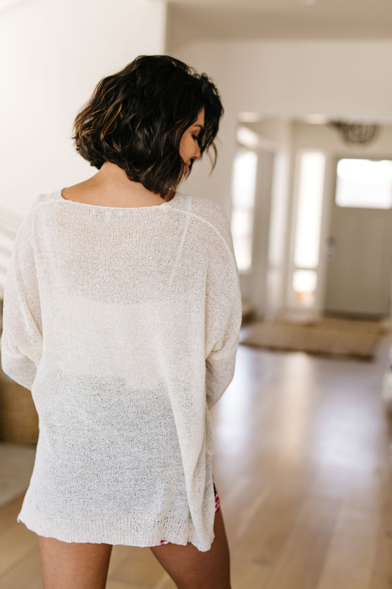Light Sheer Sweater