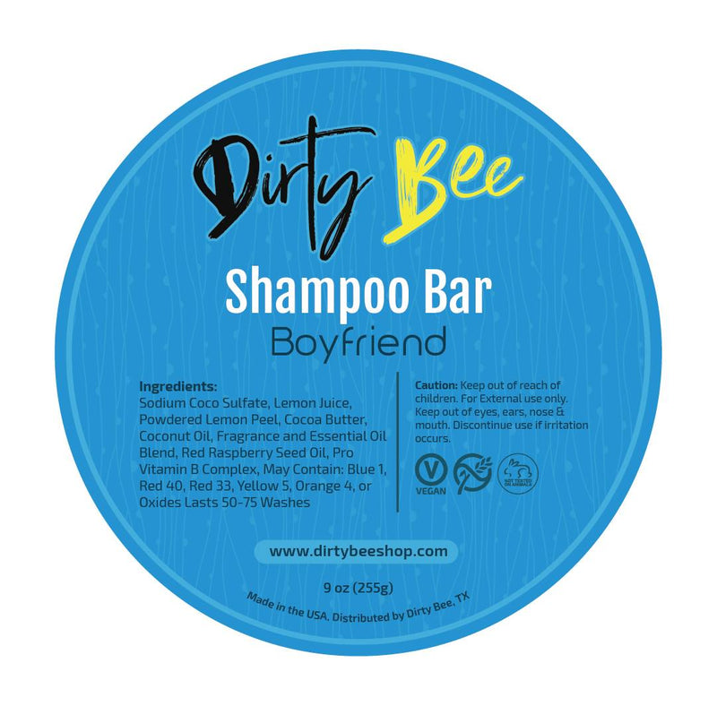 Dirty Bee Shampoo Bars | Boyfriend