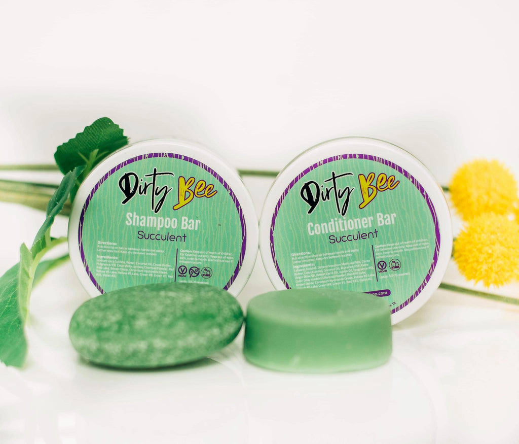Dirty Bee Shampoo Bars | Succulent