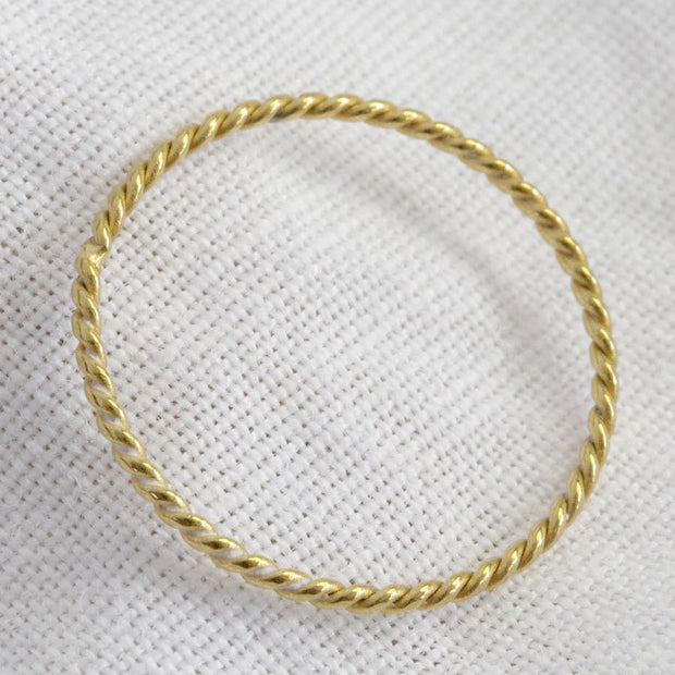 Rope Skinny Ring - Welles and Company