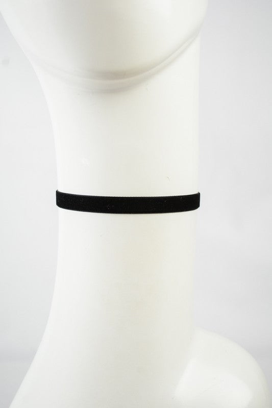 Velvet Choker Necklace - Welles & Company