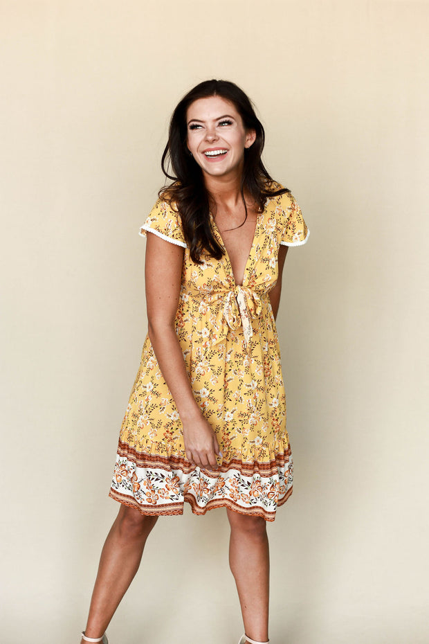 Flower Child Dress - Welles and Company