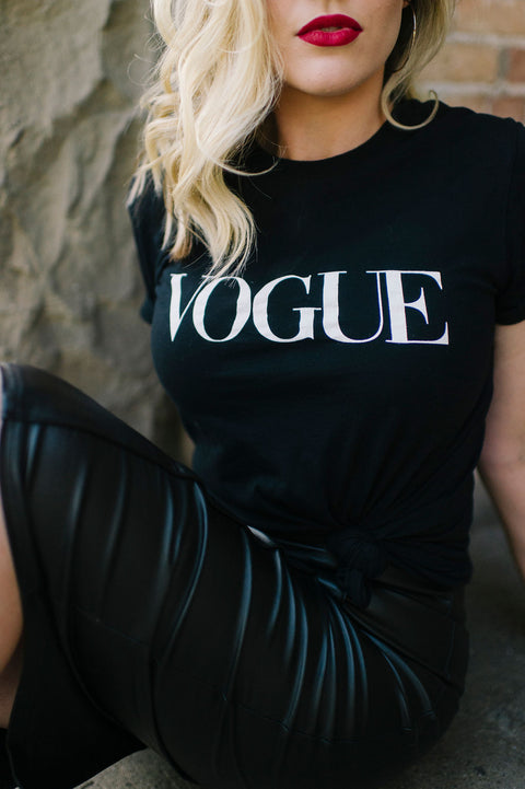 Vogue Tee - Welles & Company