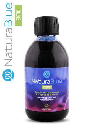 1 flacon de 250ml Spiruline NaturaBlue® Exotic