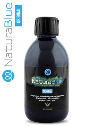 1 flacon de 250ml de Spiruline NaturaBlue® Original