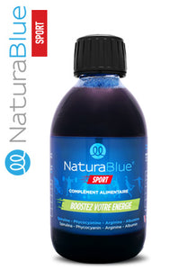 1 flacon de 250ml de spiruline NATURABLUE® Sport