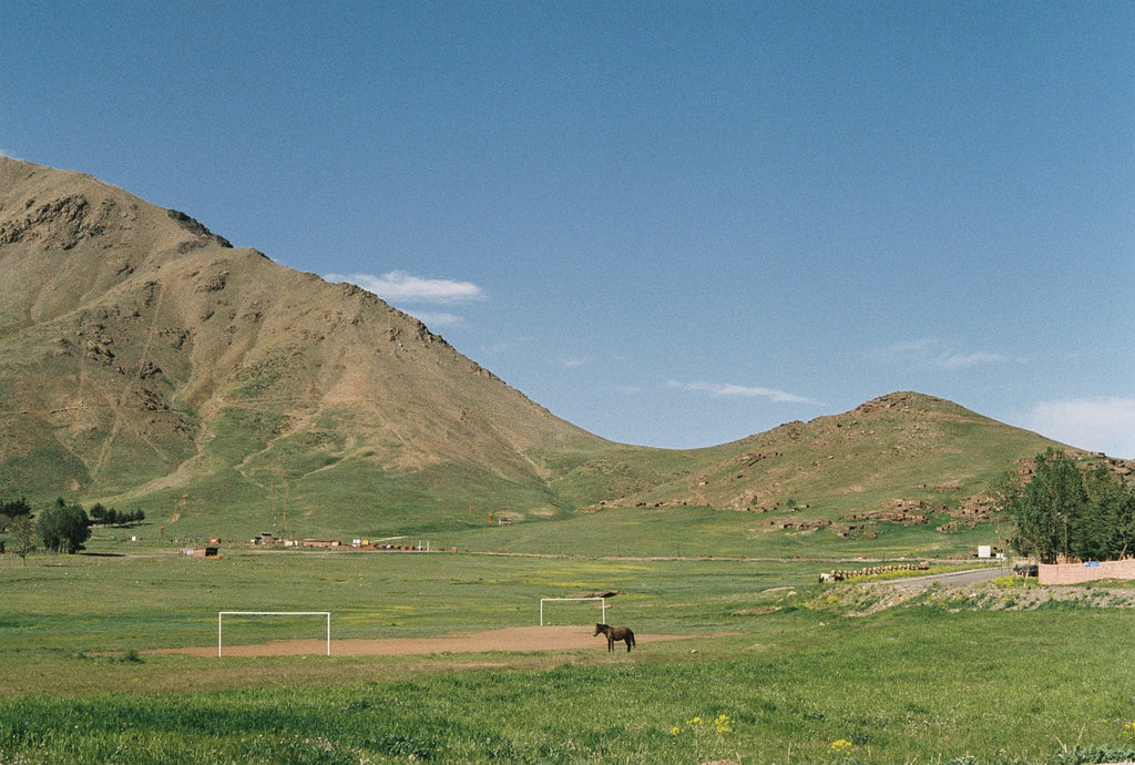 Morocco grass soccer field Can Pep Rey