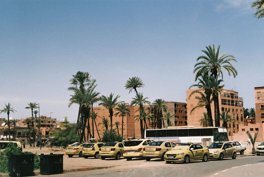 Morocco city and taxis Can Pep Rey
