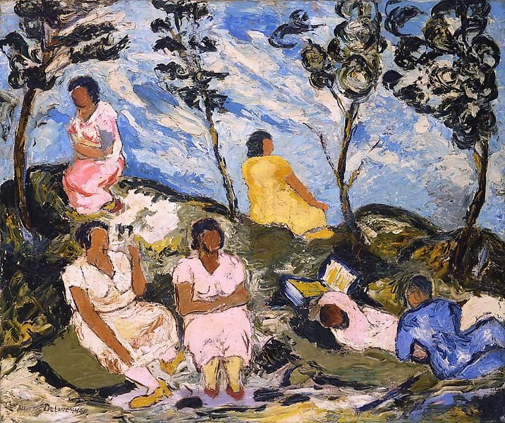 Beauford Delaney , Picnic, Can Pep Rey