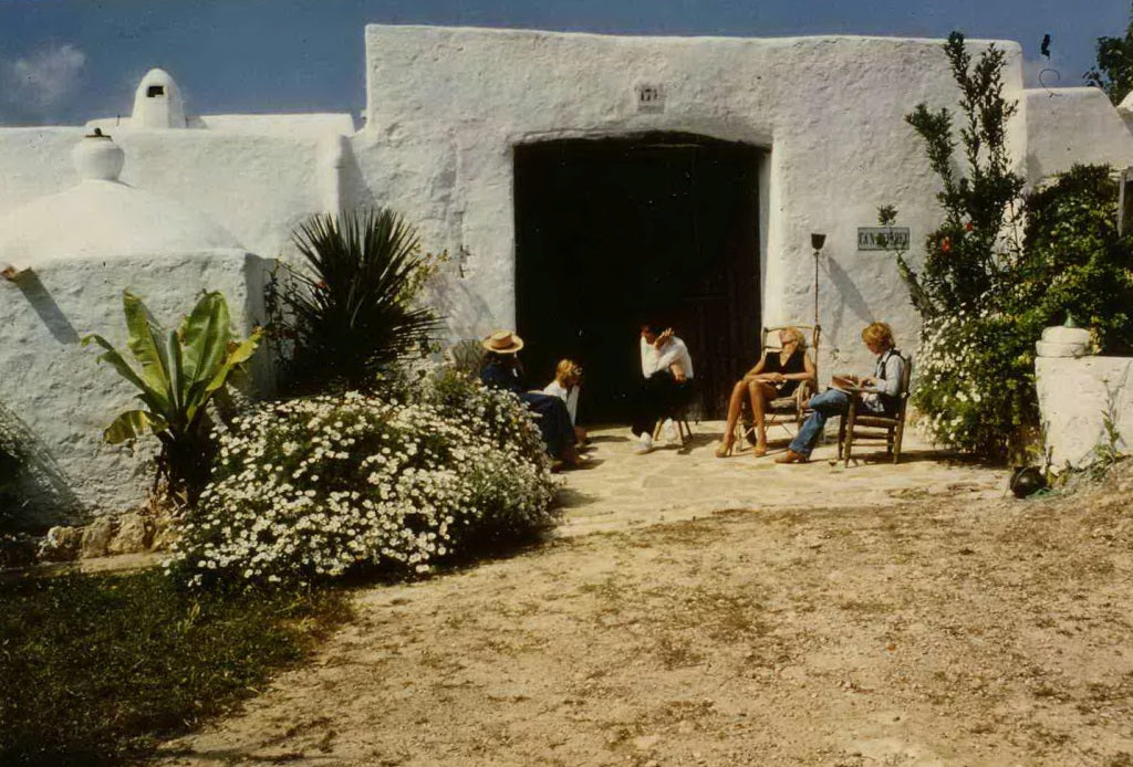 Gathering at Can Pep Rey in 1978