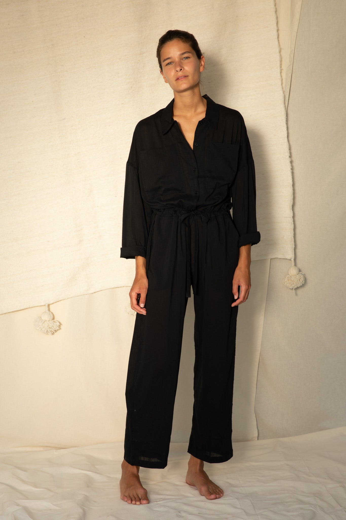 Emily Jumpsuit in Black