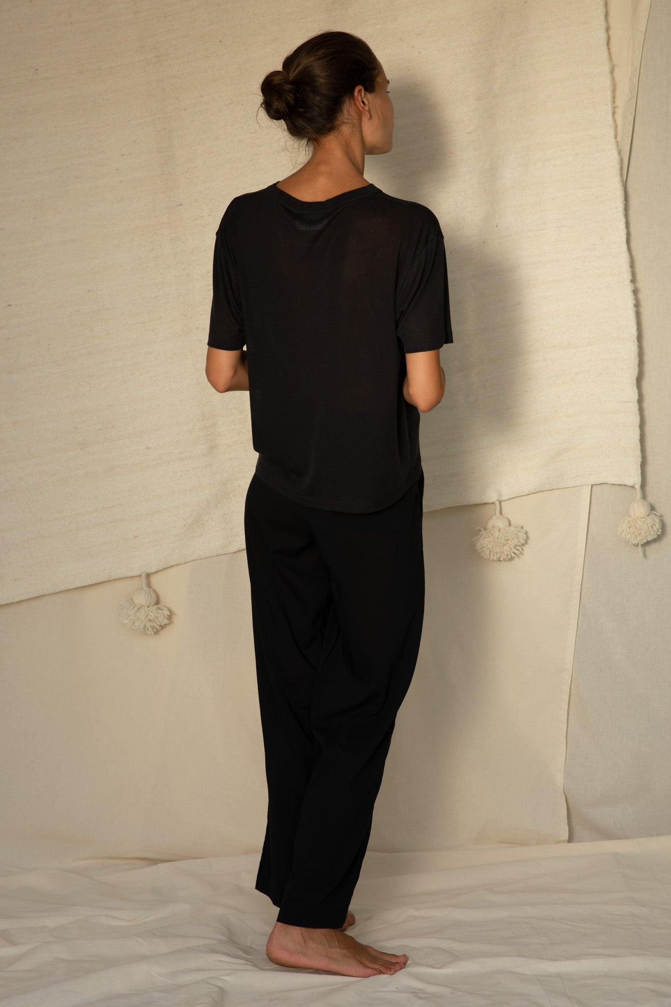 Relax T-Shirt S/S in Black