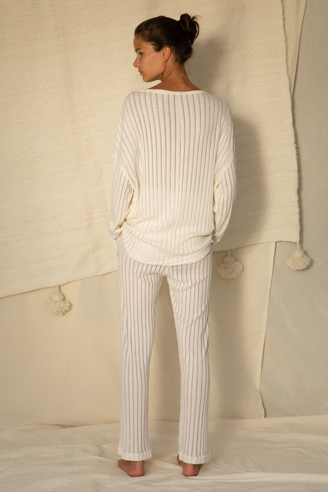 Pauli Cardigan in Off White