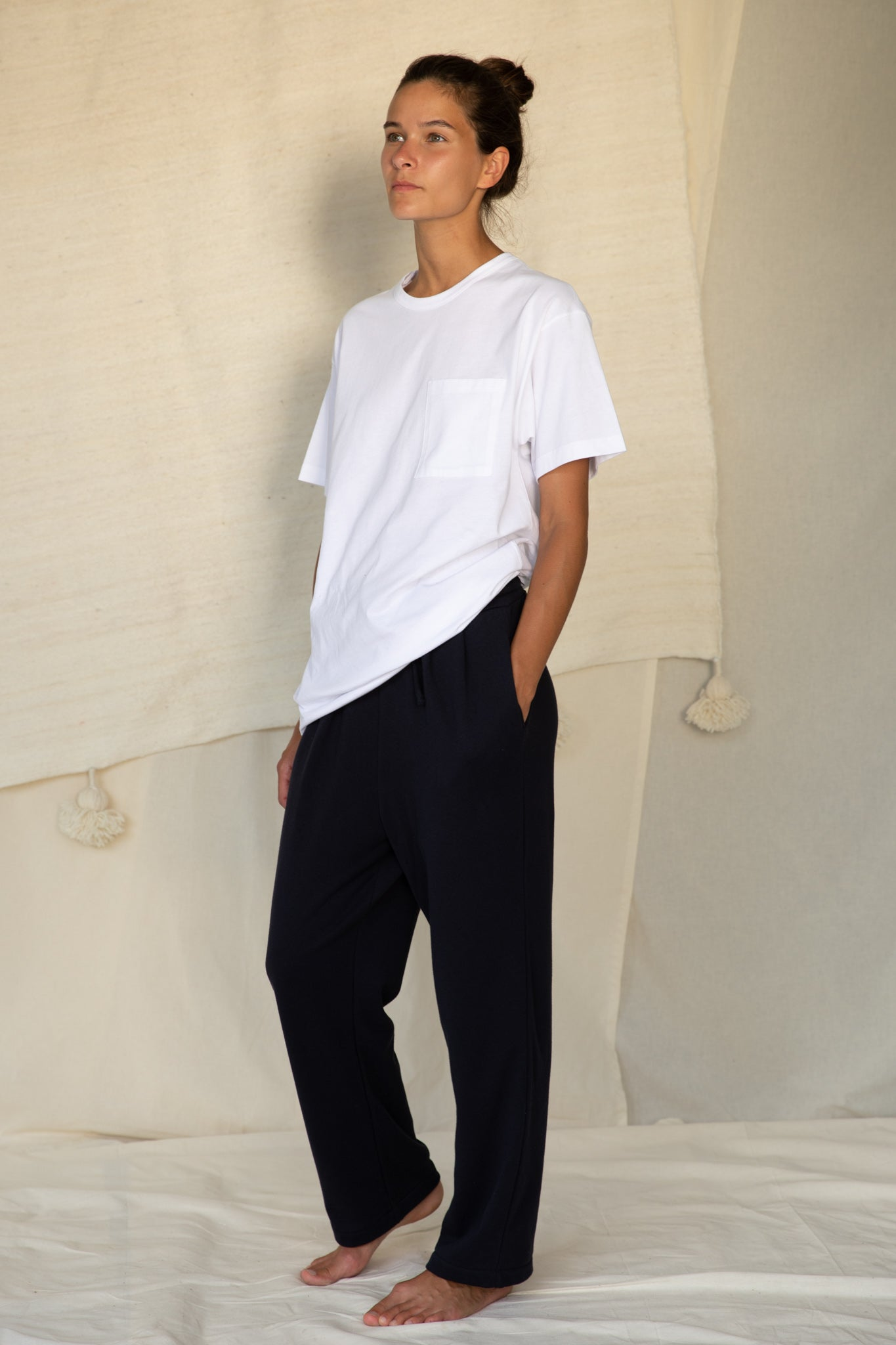 Jogging Pants in Dark Navy
