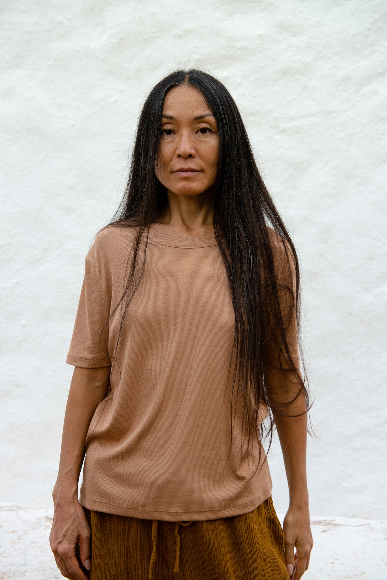 Relaxed Portuguese Rib T-Shirt S/S