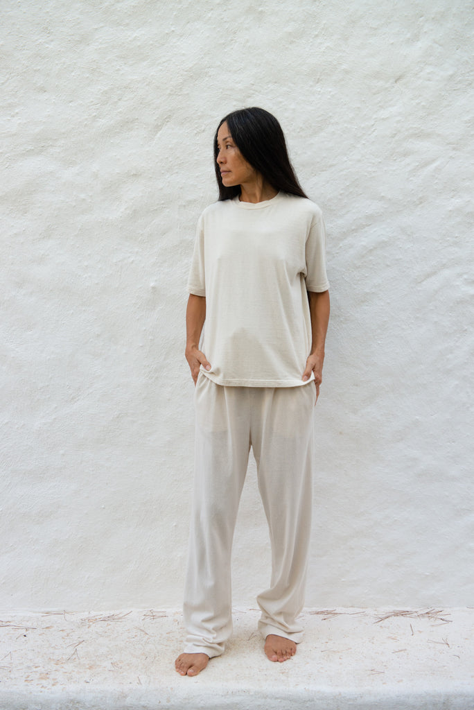 Cotton Silk Jogging Pants