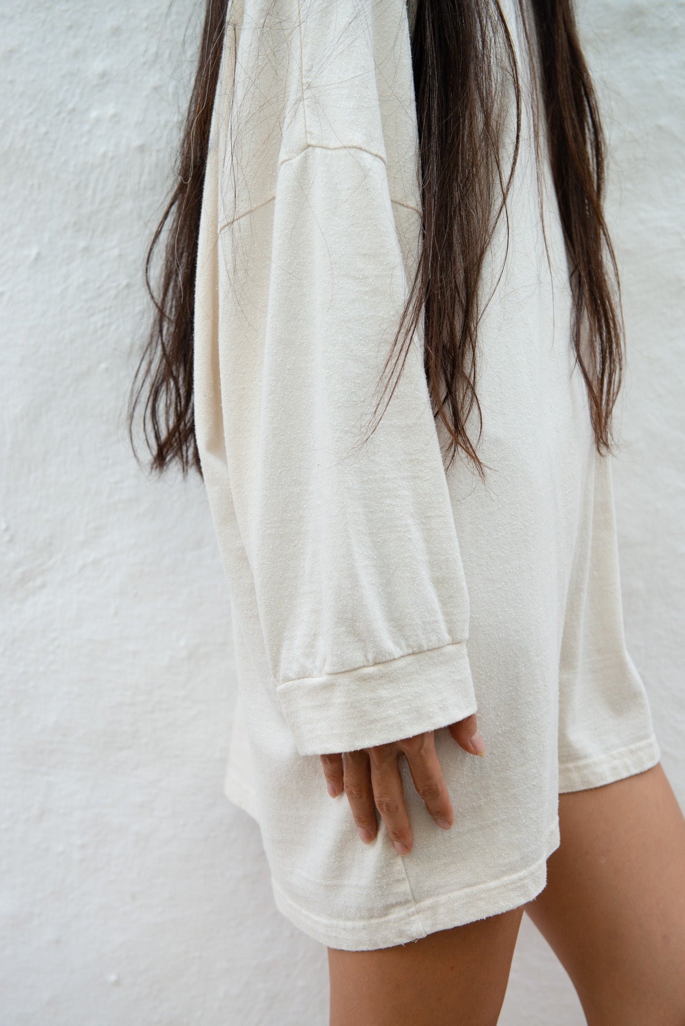 Cotton Silk Loose Sweater