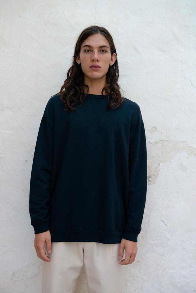 Oversized Organic and Recycled Cotton Sweater