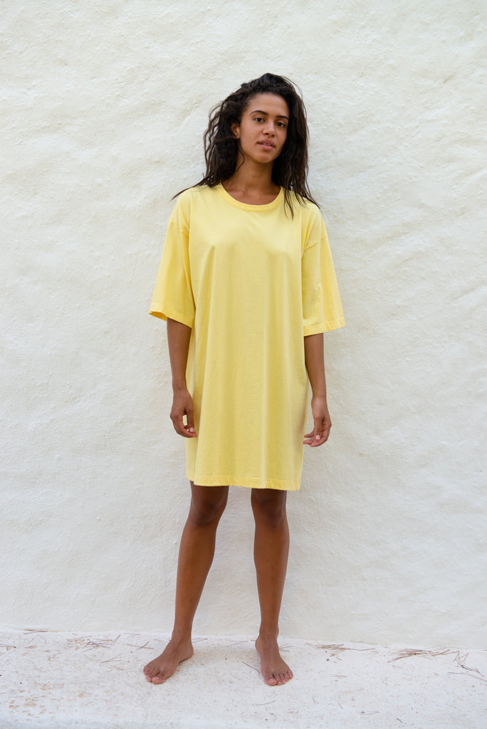 Cotton Oversized T-Shirt Dress