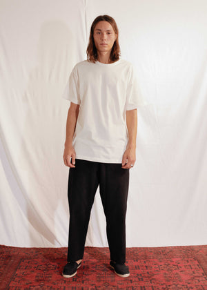 Unisex Cotton T-Shirt in Off White